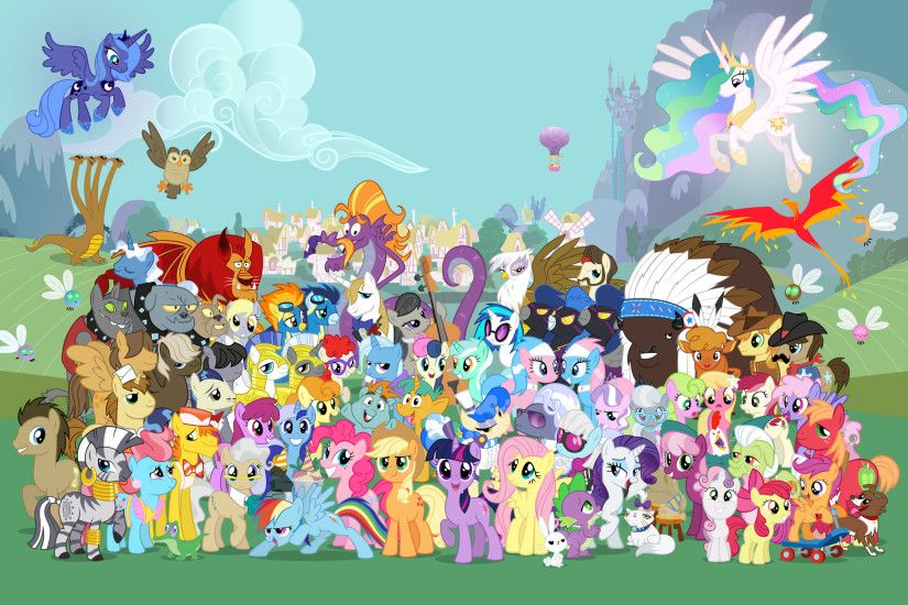2560x1600 My Little Pony Friendship Is Magic MLP Wallpapers