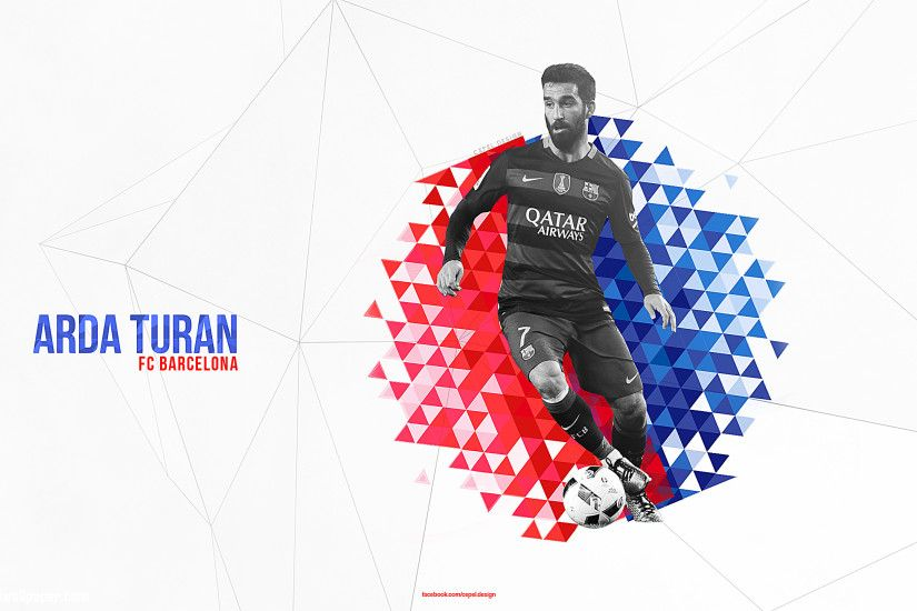 Arda Turan Barcelona Wallpaper Design by Tcepel On Deviantart