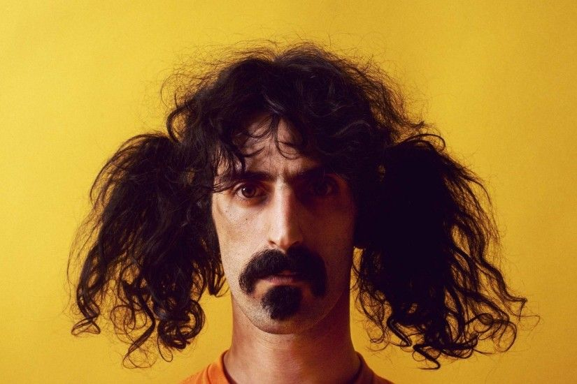 Frank Zappa, Singer, Funny Hairstyle, Hairstyle, Hair, Face, Funny Frank