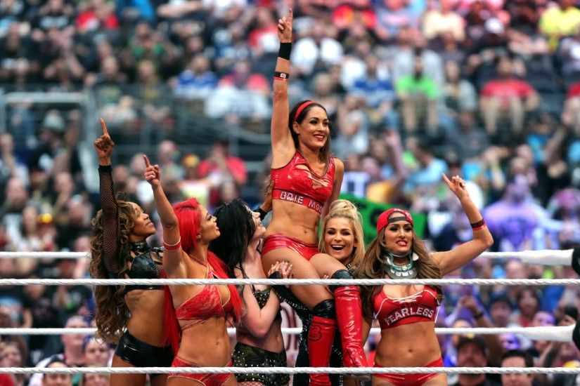 3534 Views 803 Download Brie Bella Popular WWE Female Wrestler Photo