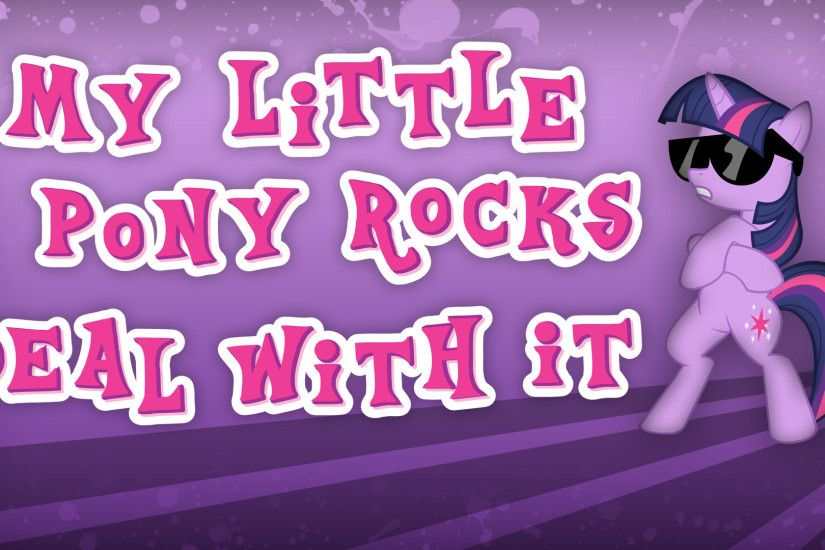 ... My Little Pony Rocks Wallpaper by Dipi11
