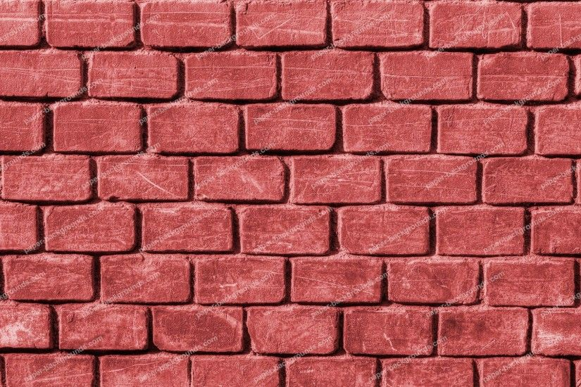 100 pink brick wall background stock red brick wall