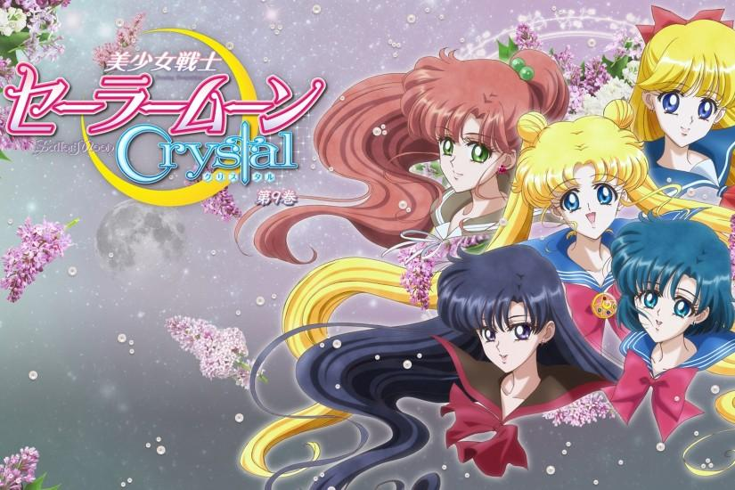 Wallpaper HD Sailor Moon Crystal DVD 9