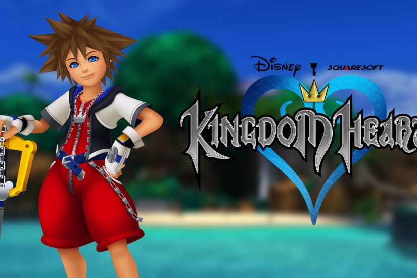 ... Kingdom Hearts Wallpaper - KH1 Sora by TheWolfGalaxy