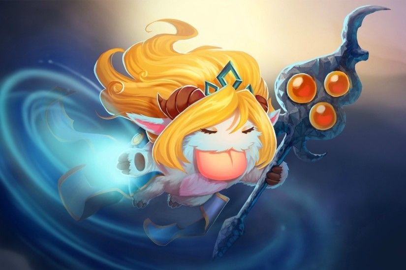 Video Game - League Of Legends Janna (League Of Legends) Poro Wallpaper