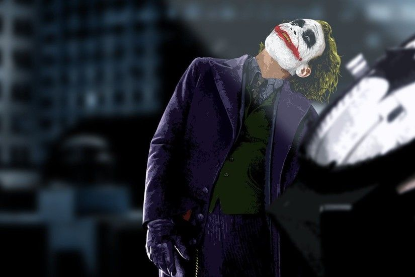 The Joker The Dark Knight wallpaper