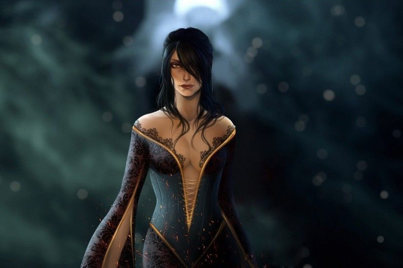 Wallpaper dragon age: inquisition, morrigan, witch, mage wallpapers .