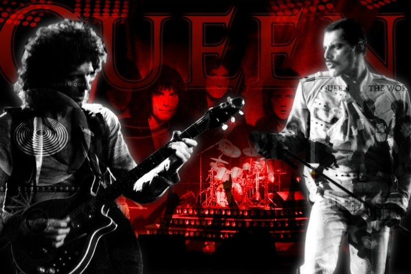 freddie mercury rock music queen music band brian may roger meddows taylor  1680x1050 wallpaper Art HD