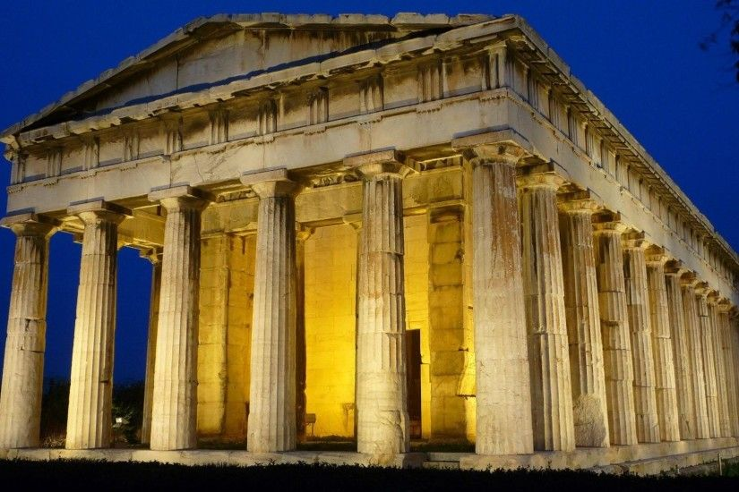 Greek, Architecture, Building, Greece, Ancient