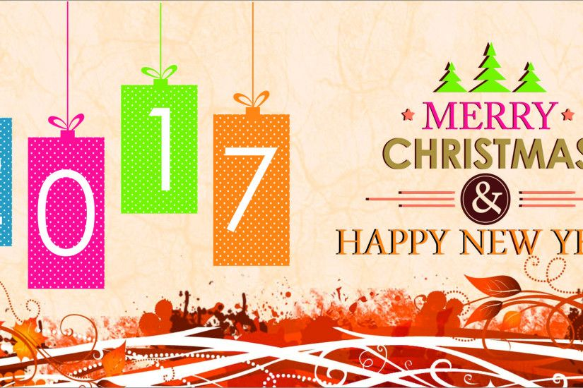 2017 Happy New Year Christmas Wallpaper HD