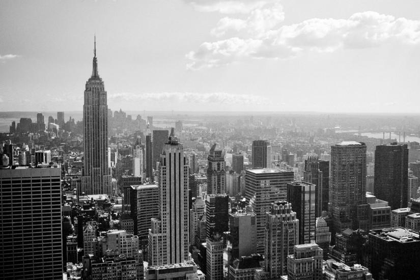 Black And White New York Wallpaper - Widescreen HD Wallpapers