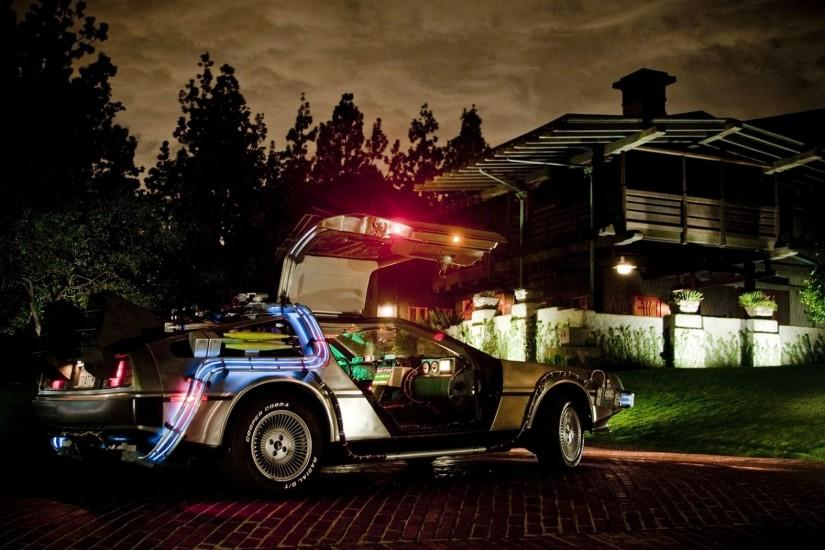 DeLorean, Car, Back To The Future Wallpaper HD