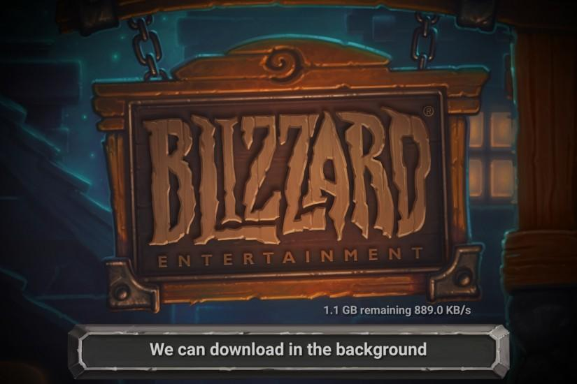 This will change how Hearthstone is downloaded and will help lead to a  smaller install size and smoother patching in the future.
