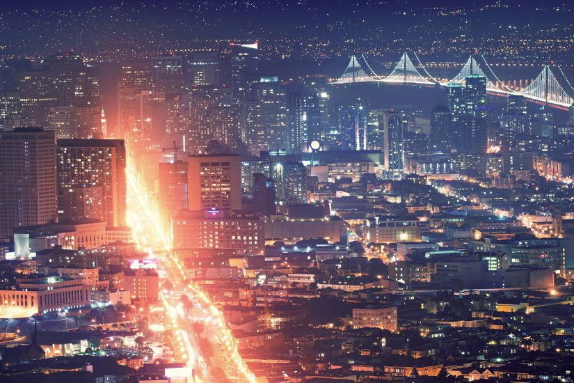 San francisco city night