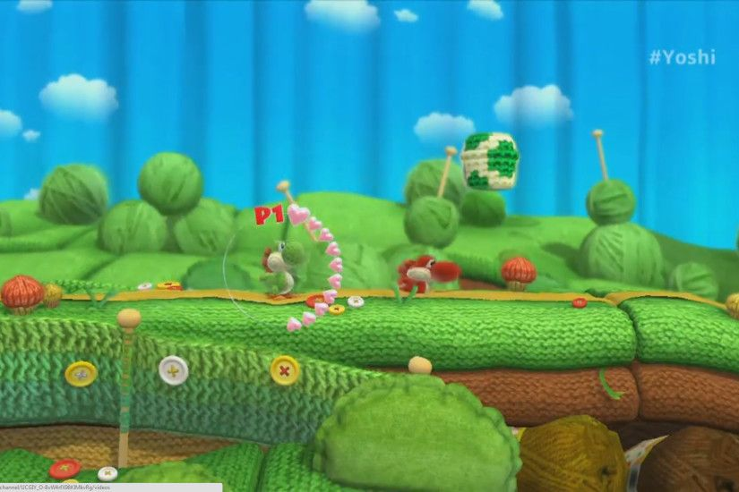 Video Game - Yoshi's Woolly World Wallpaper