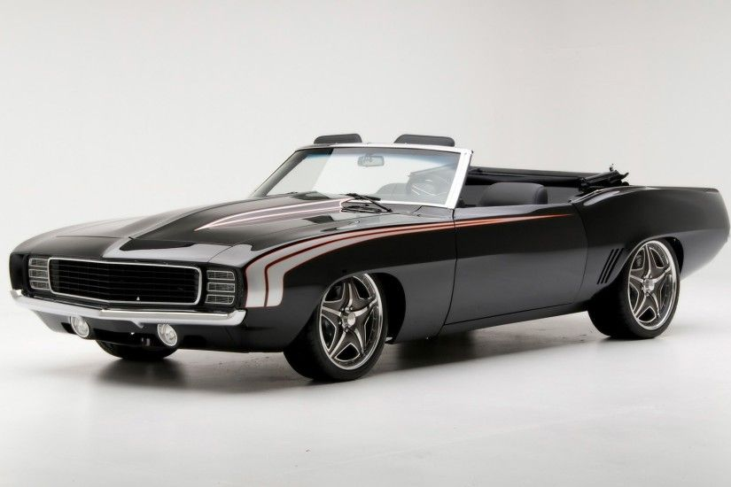 1969 Camaro Convertible Wallpaper Muscle Cars Cars Wallpapers