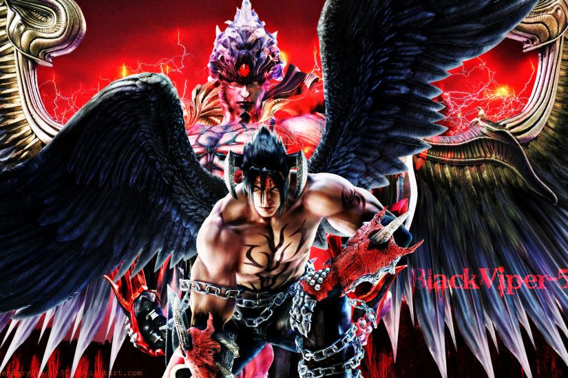 Devil Jin by LegendaryDragon90 on DeviantArt