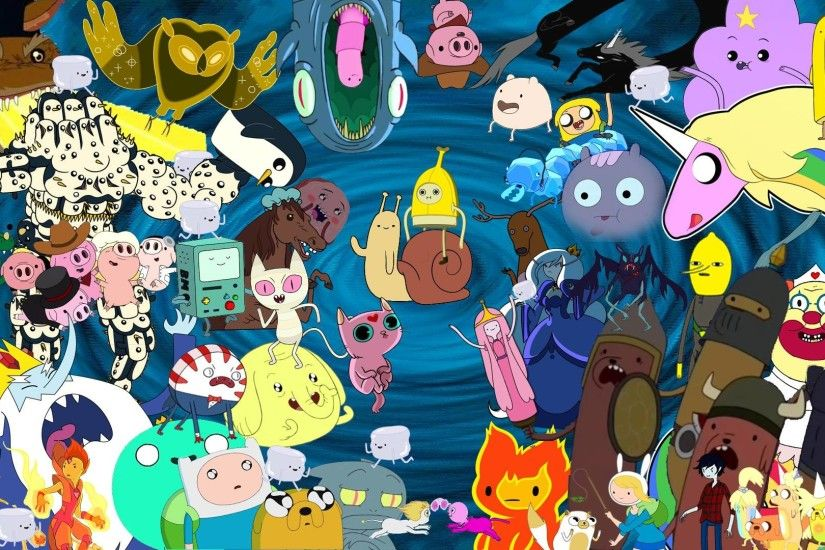 Adventure Time Characters. Wallpaper: Adventure Time Characters