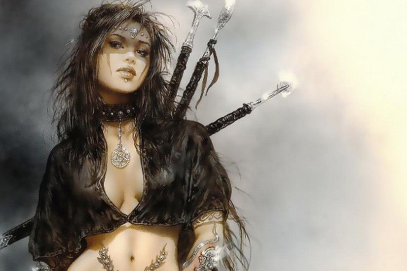 Free luis royo wallpaper background
