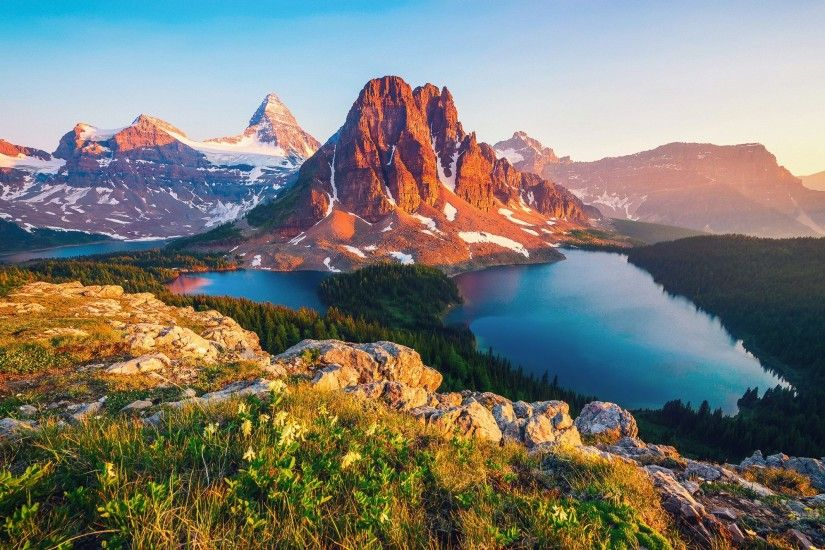 Beautiful Mountain Wallpaper Widescreen #EjO