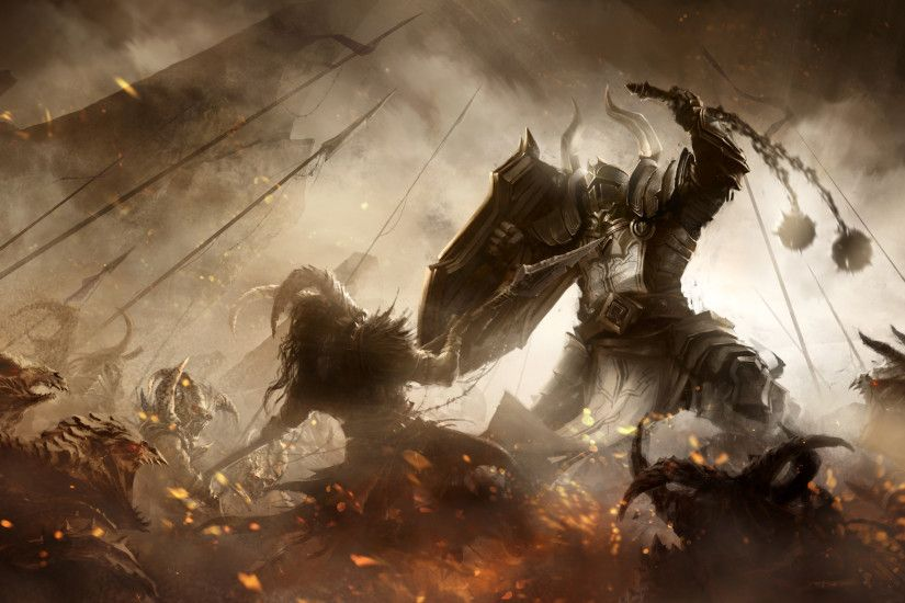 ... Diablo 3 Fanart - Crusader by m-hugo