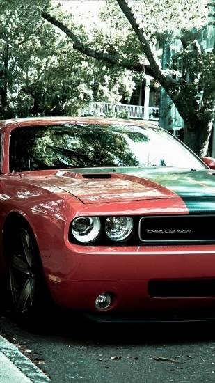 Dodge Challenger HD wallpaper for iPhone