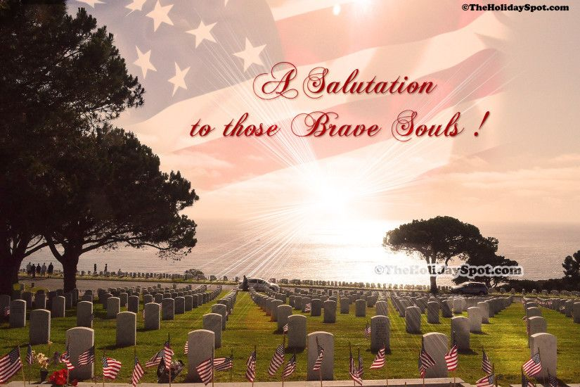 A desktop illustration of a salutation to those brave souls on Memorial Day.