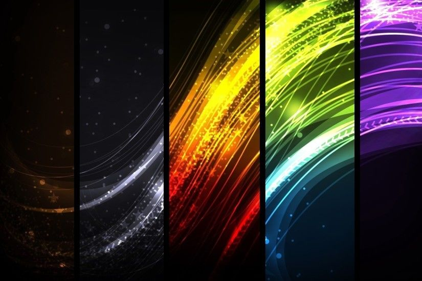 Abstract Multi Colors HD Wallpaper