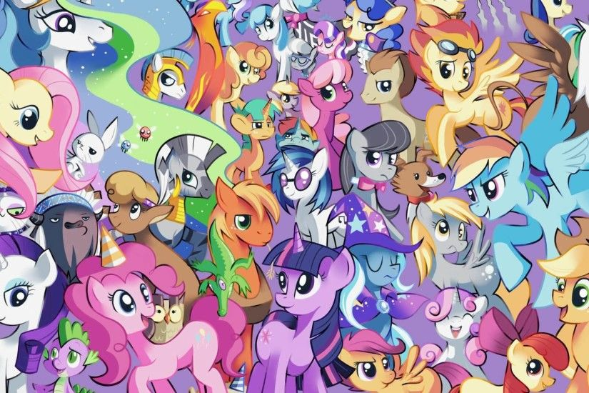 My Little Pony Wallpapers for iPad
