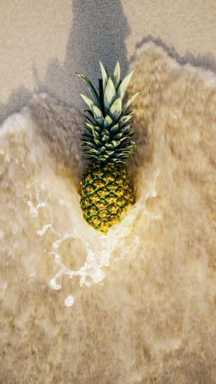 Download this rad pineapple wallpaper for your iPhone