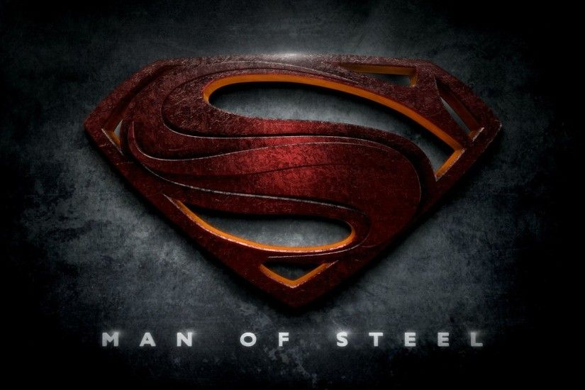Superman Logo Man Of Steel Cool Wallpapers