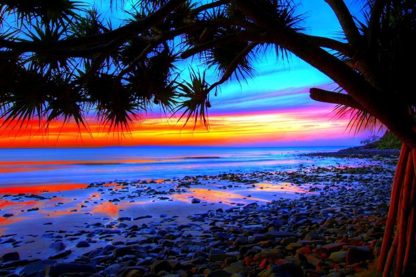 Beach Paradise Sunset Wallpaper Iphone Wallpap