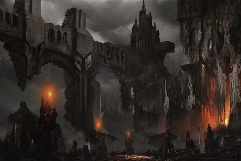 Fantasy Dark Castle Wallpaper Hd Widescreen 11 HD Wallpapers