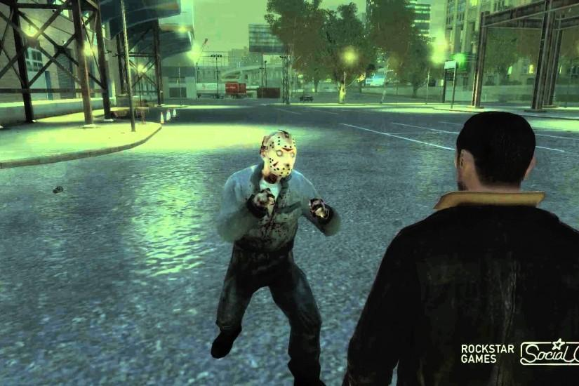 Niko Bellic VS Jason Voorhees