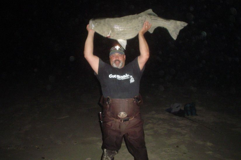 Got Bass?Craig Greesnslades Early spring Compton Rhode Island 50 pounder.
