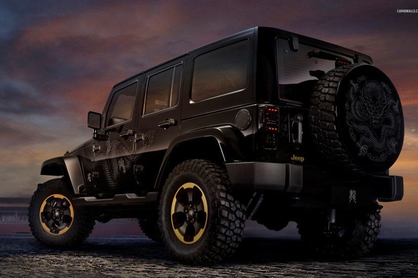 Vehicles - Jeep Black Car Vehicle Jeep Wrangler Wallpaper