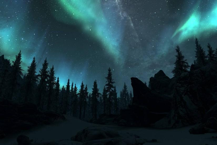 free northern lights wallpaper 1920x1080 for windows 10