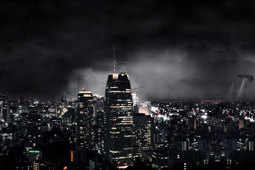 Dark Abstract City