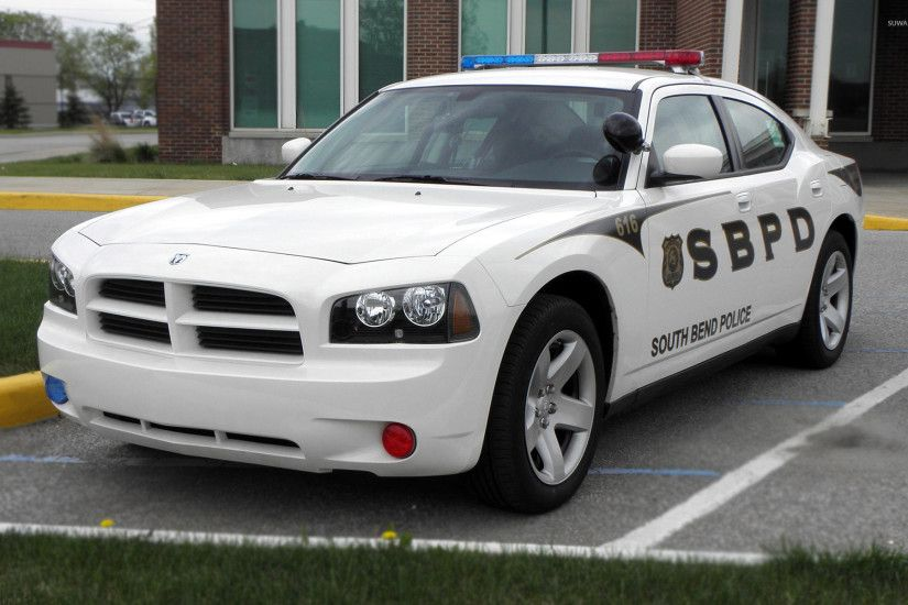 2009 Dodge Charger Police car wallpaper 1920x1200 jpg