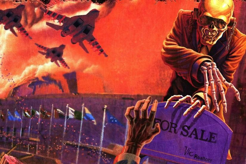 MEGADETH thrash metal heavy (24) wallpaper