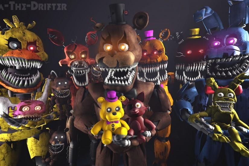 five nights at freddys wallpaper 3840x2160 for iphone 6