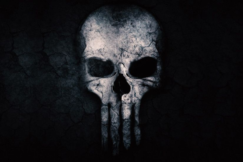 Punisher Skull ChromeBook Wallpaper