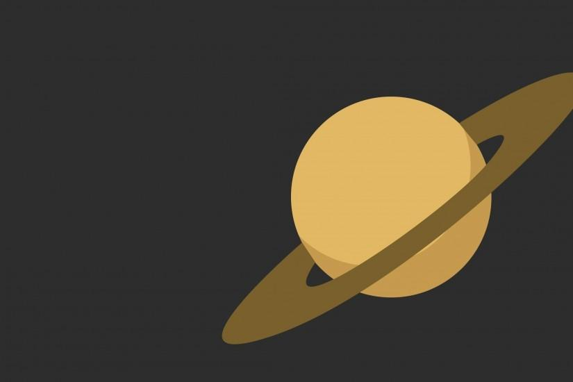 Preview wallpaper saturn, ring, planet 2560x1440