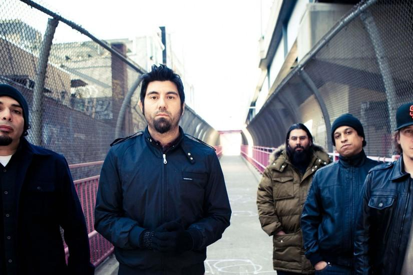 1920x1080 Wallpaper deftones, jackets, outdoor, bridge, ship