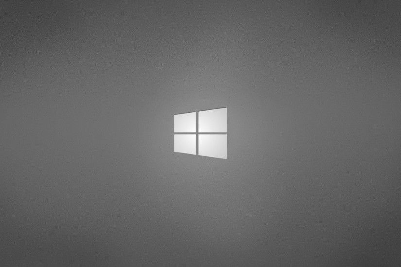 Minimalistic gray grey operating systems windows logo windows wallpaper |  1920x1080 | 260685 | WallpaperUP