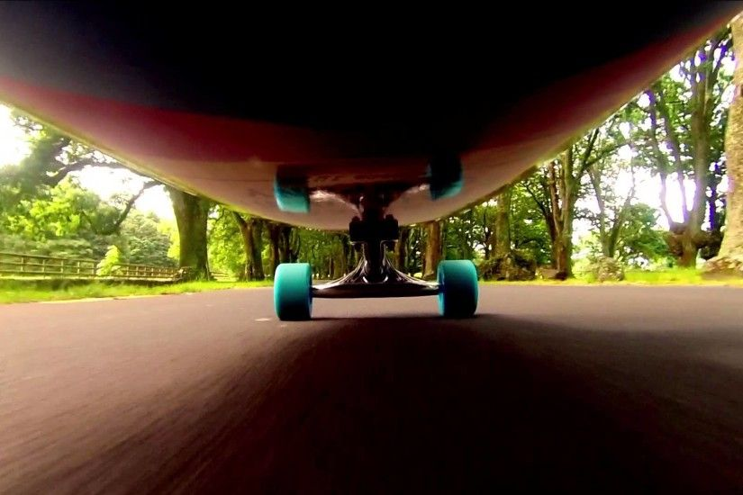 Longboarding Cornwall Park, Auckland (New Zealand) with GoPro Hero 3