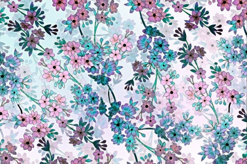 Floral Pattern Background 134