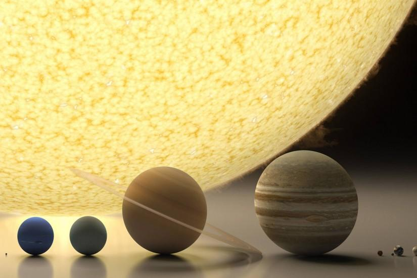 Solar System HD Unbelievable Background.