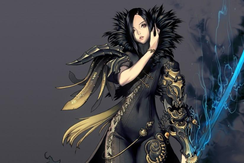 widescreen blade and soul wallpaper 3000x1688
