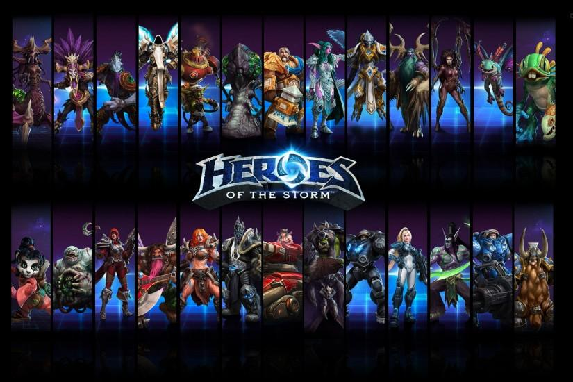 heroes of the storm wallpaper 1920x1080 1080p